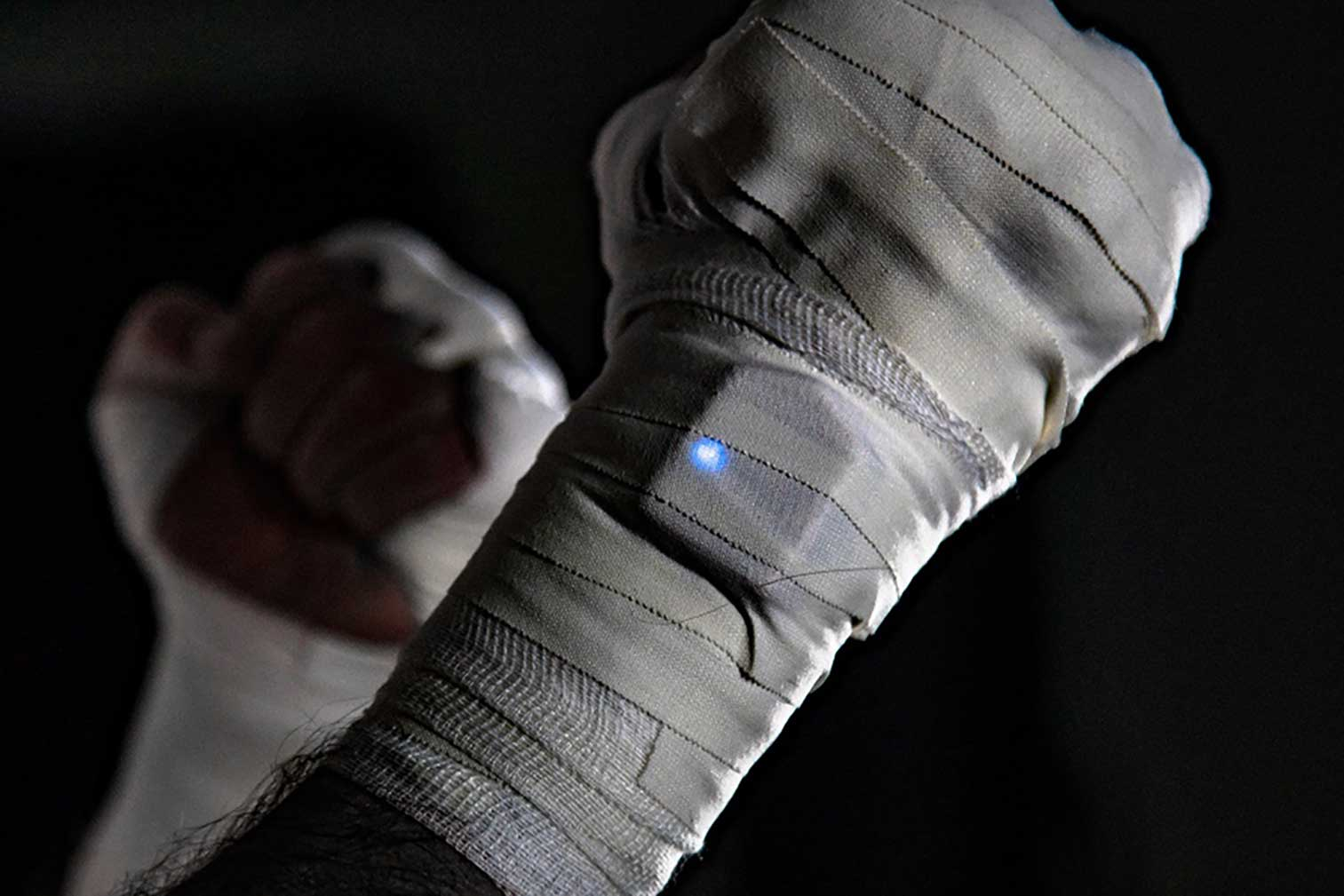 Developing a fast-moving wearable device – a punch tracker for boxers